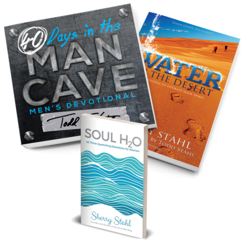 water in the desert man cave soul h2o devotional